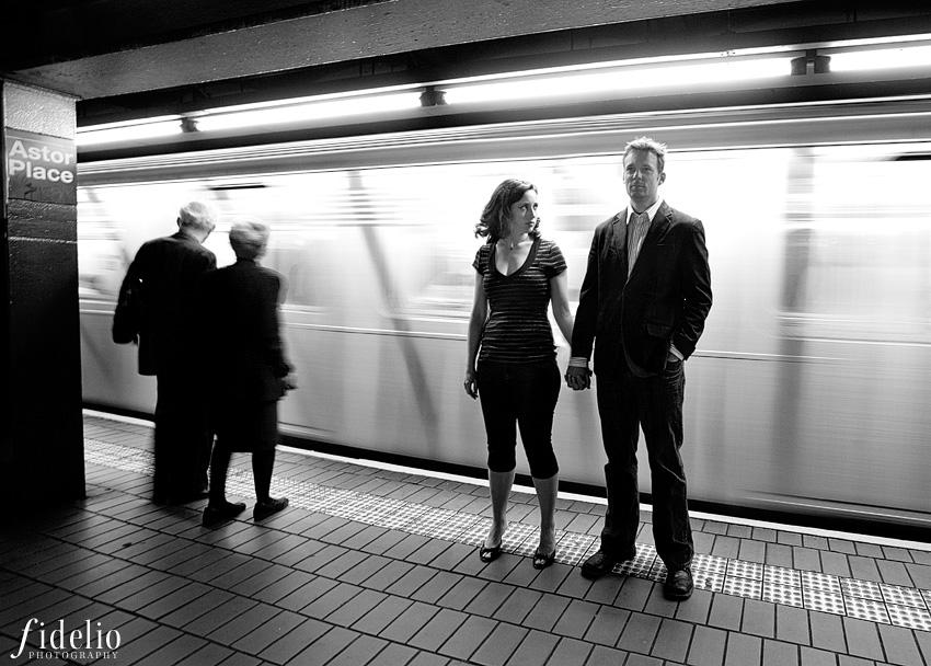Cory and Erica NYC