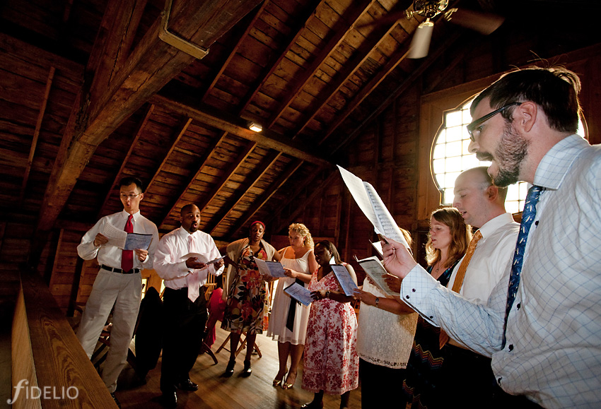 wedding choir