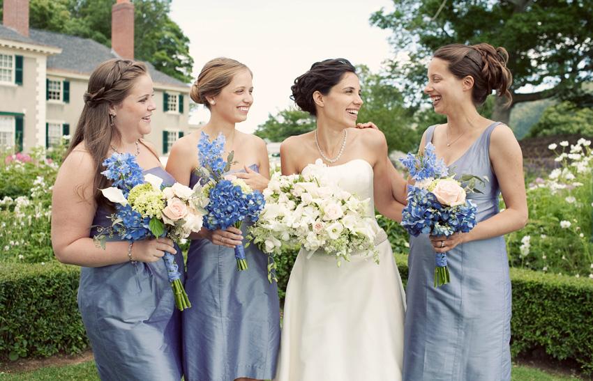 blythe's bridesmaids - Hildene