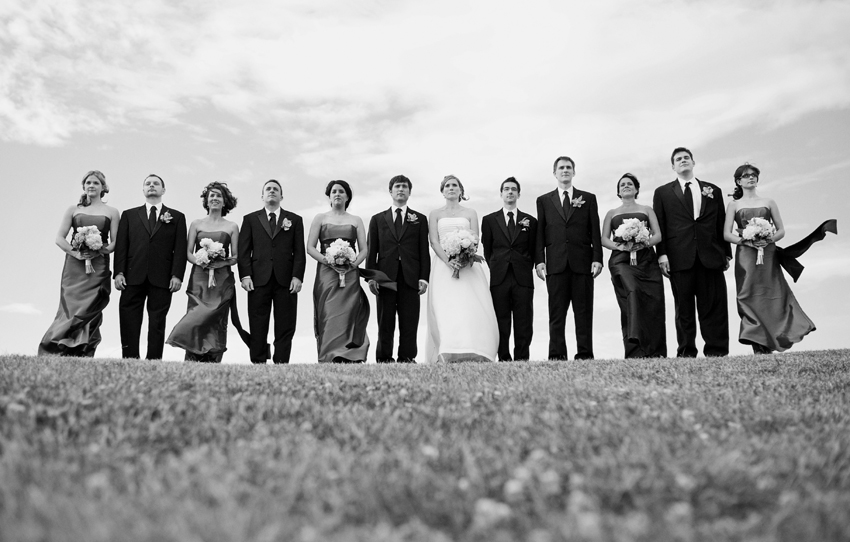 wedding party - maine wedding photographers