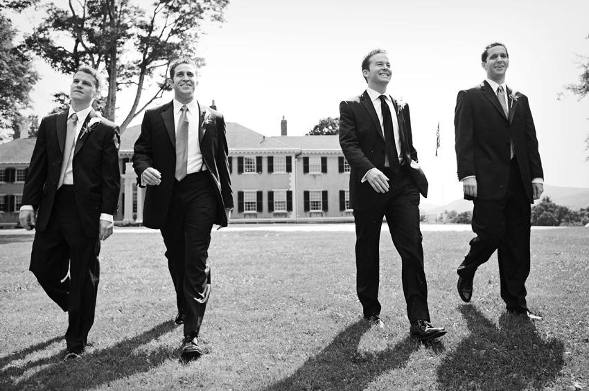 ryan's groomsmen - Hildene