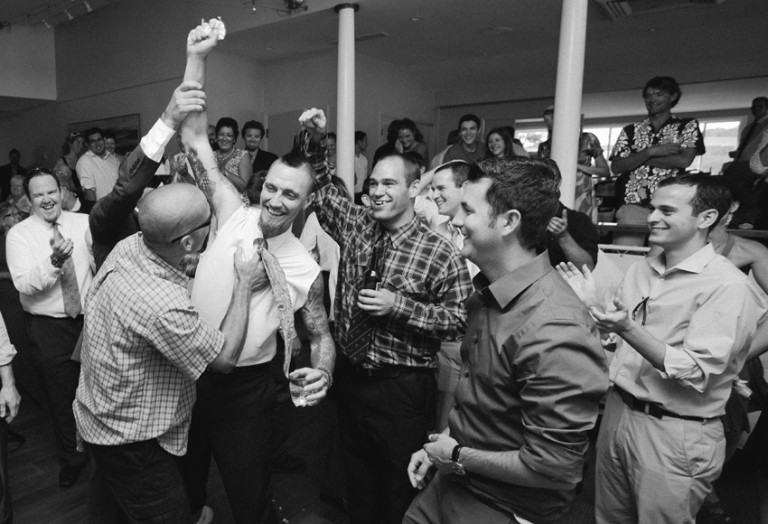 Wedding Guests Partying
