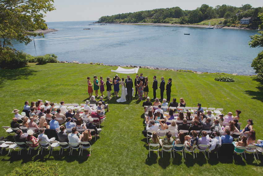 Wedding at Dockside Inn - York, Maine