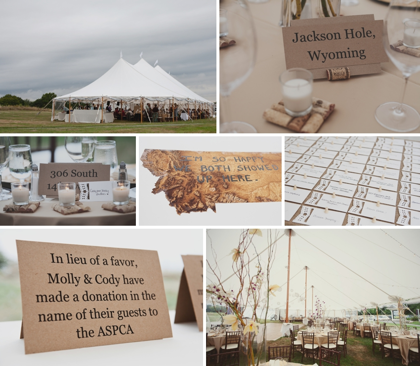 wedding details - laudholm farms