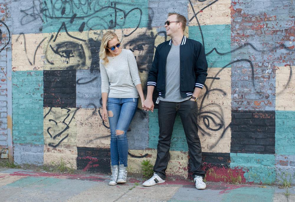 New York engagement photos