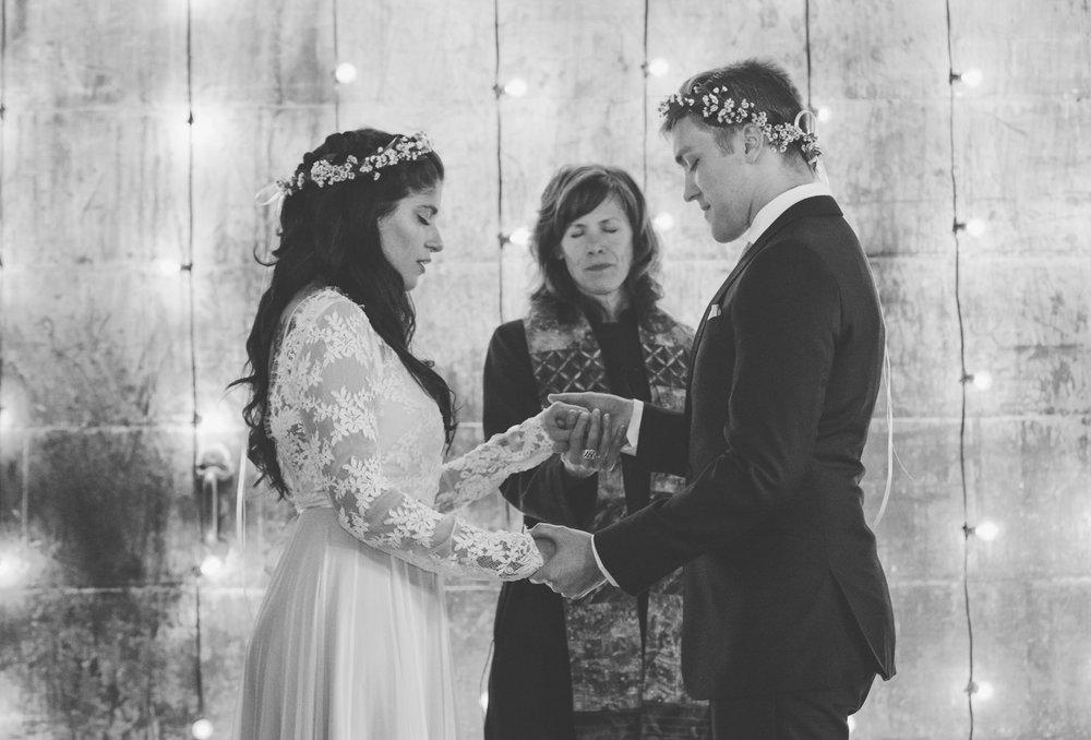 portland maine warehouse wedding