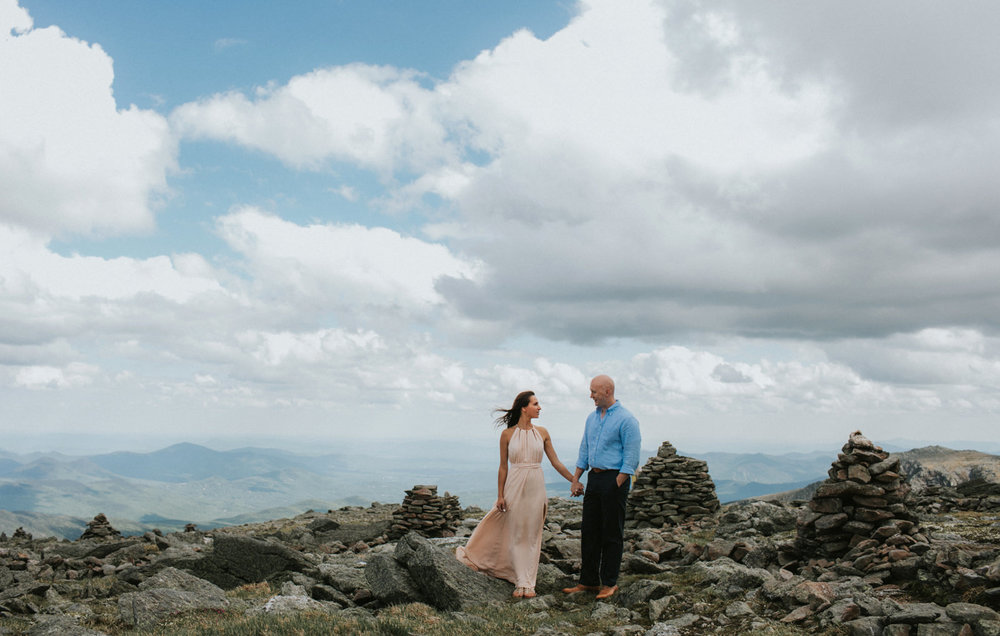 mount washington engagement photos