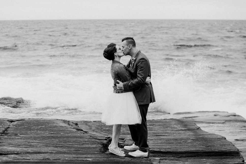 couple elopes in maine