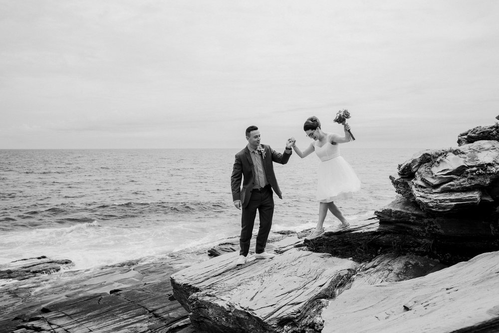 maine elopement photographers
