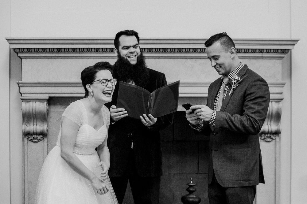 Portland, Maine City Hall elopement