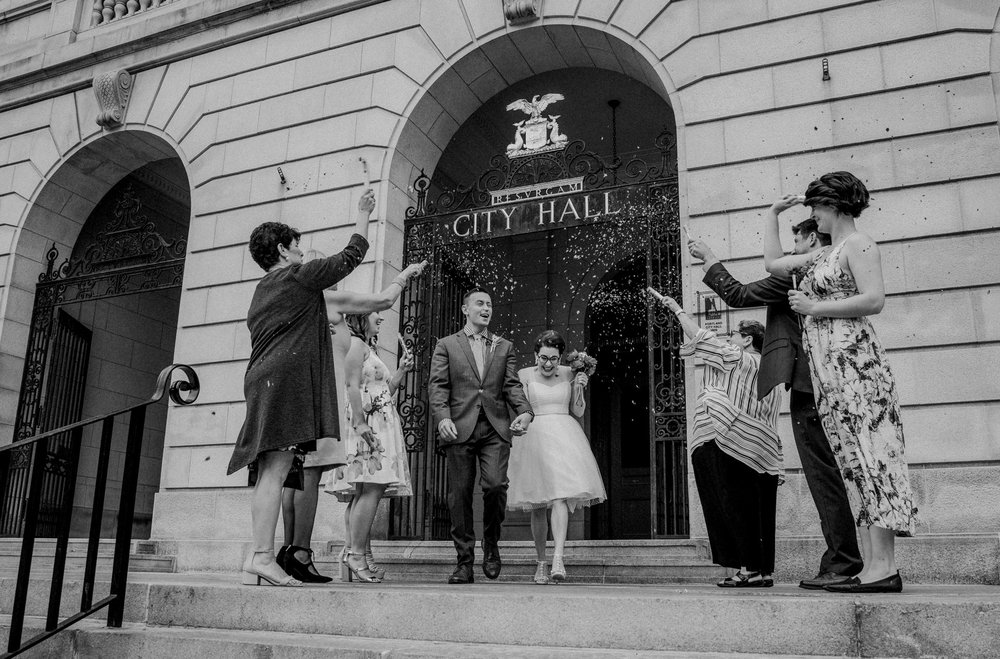 A City Hall elopement in Portland, Maine