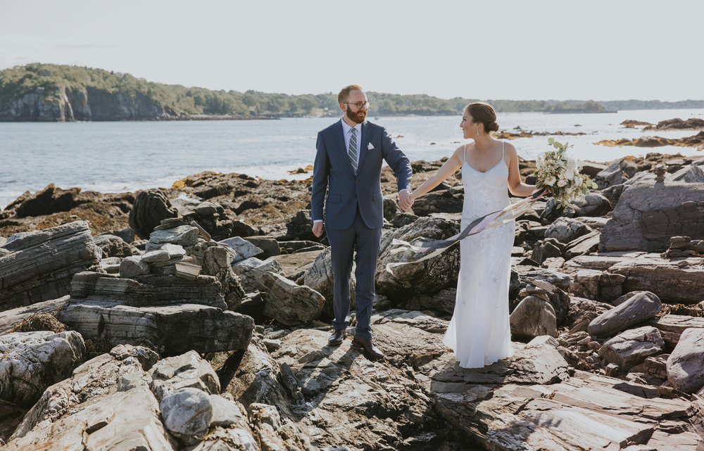Peaks Island wedding photographer
