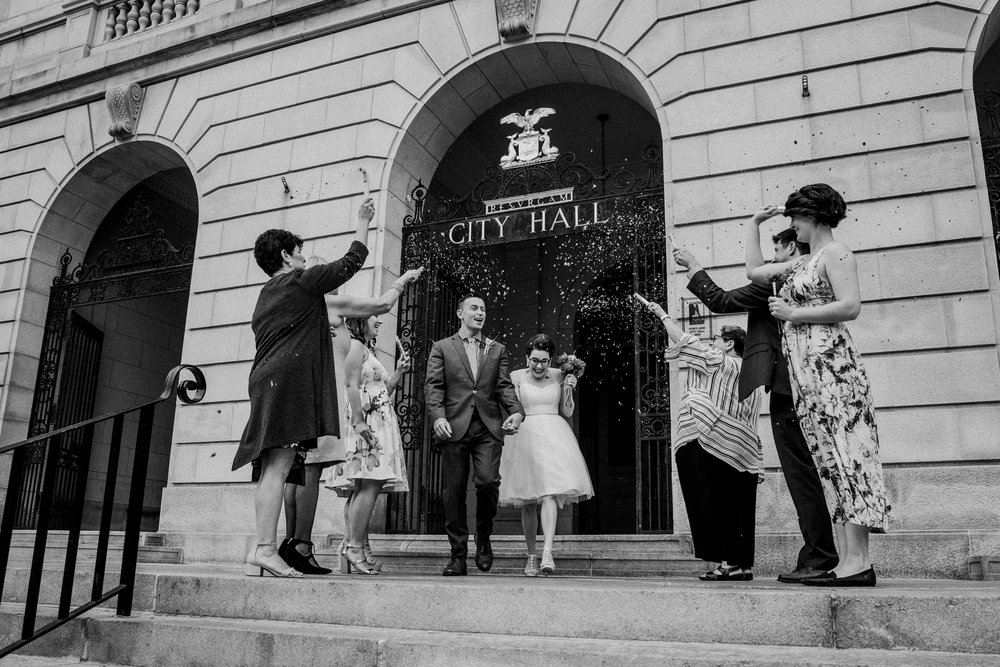 Portland City Hall elopement photographer