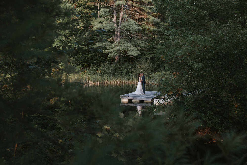 New Hampshire moody wedding photography