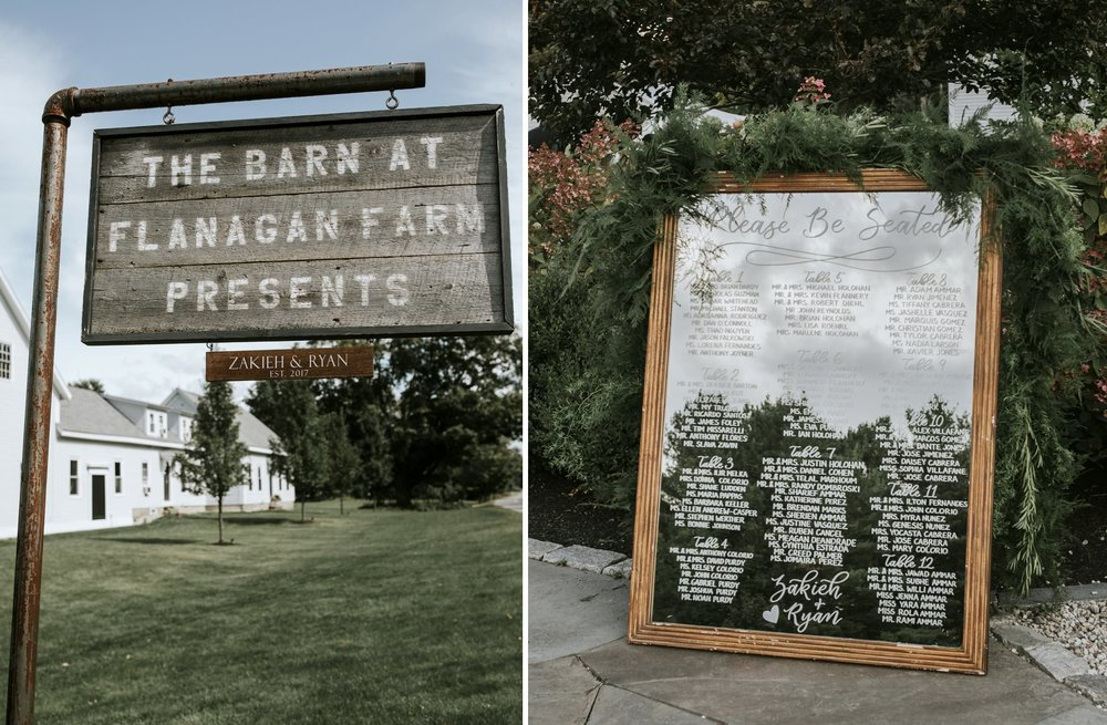 Details from a wedding at the Barn at Flanagan Farm