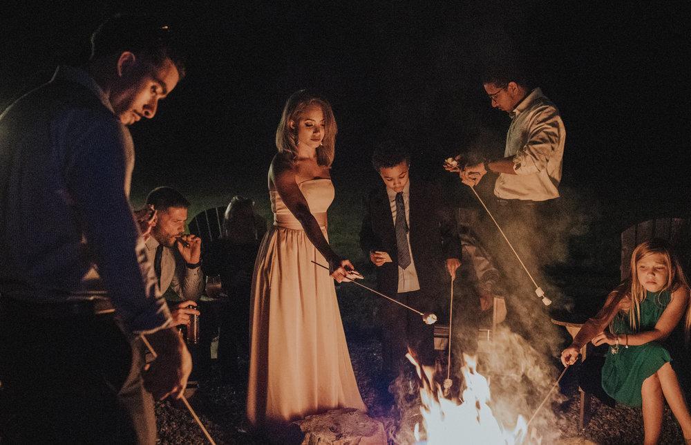 bonfire at flanagan farm
