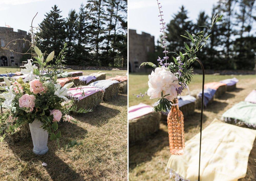 Maine wedding ceremony details