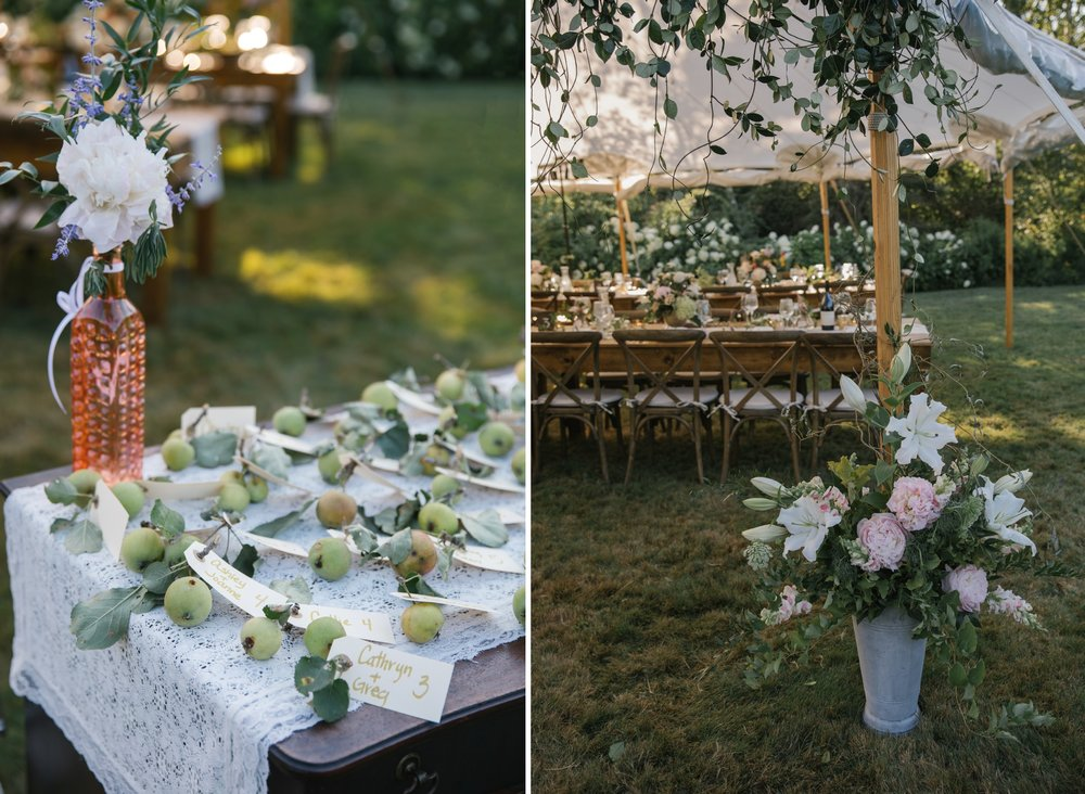 Lovely wedding details