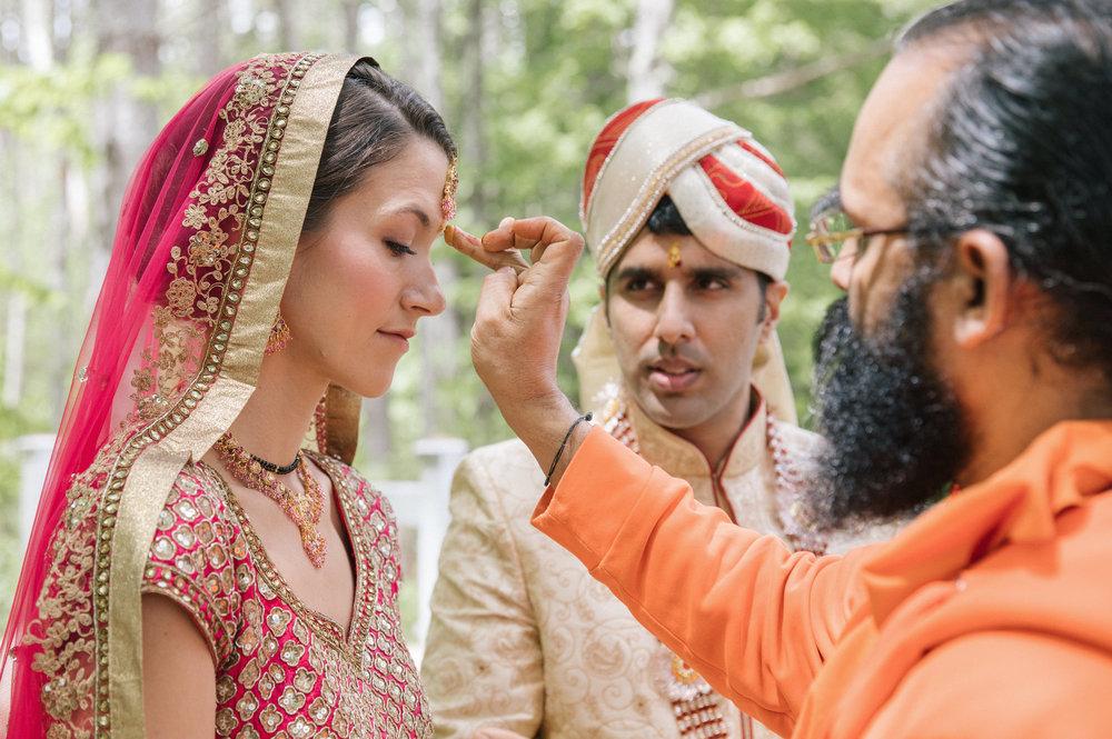 Indian Bride at Flanagan Farm
