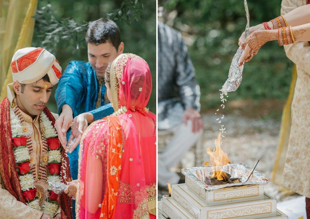 Maine Indian wedding ceremony