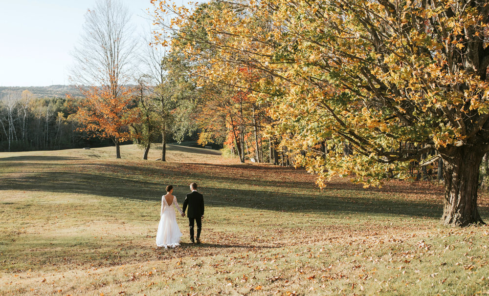 Maine Wedding - Cunningham Farm