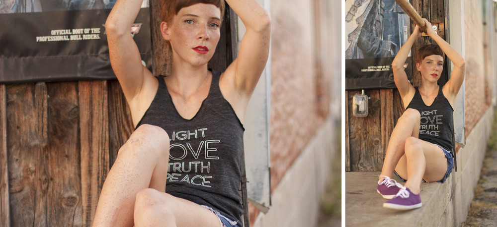 Light Love Truth Peace Tee