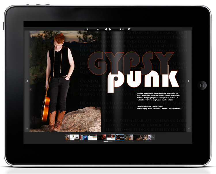 TUSK Magazine: Graphic Design and Photography by Denise Faddis
