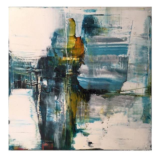 Oil on Panel by Darren Orange