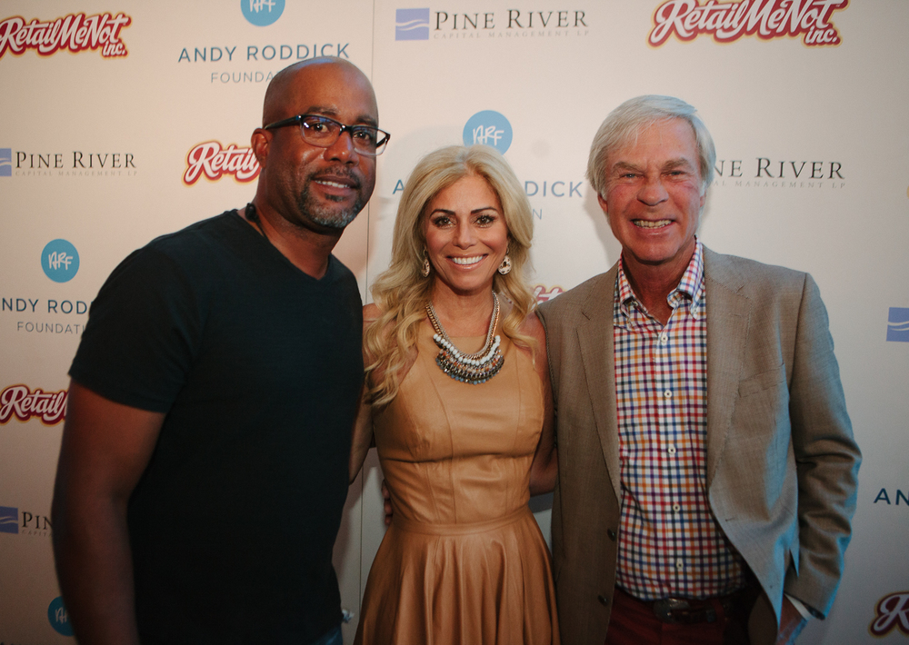 Darius Rucker, Julie and Ben Crenshaw