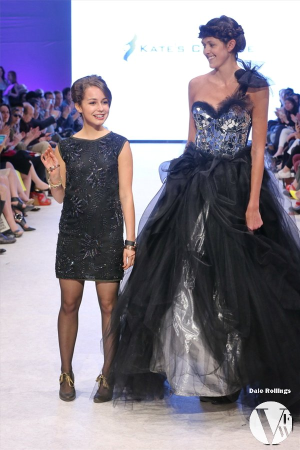 Kate Miles and Model in Kate's Couture.JPG