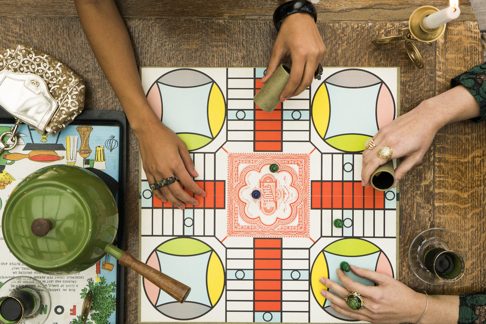 Vintage Board Game: Parcheesi