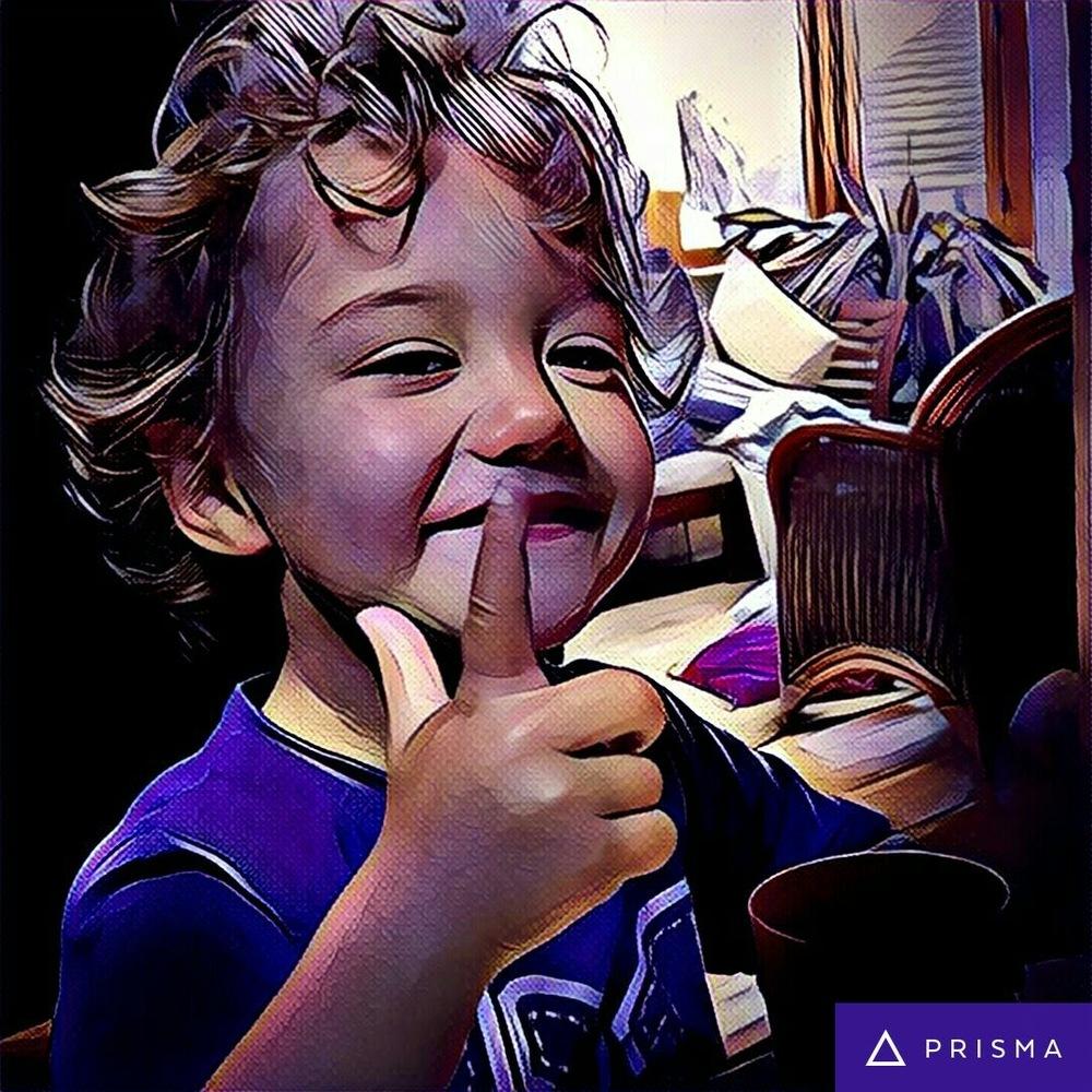 My son Leo