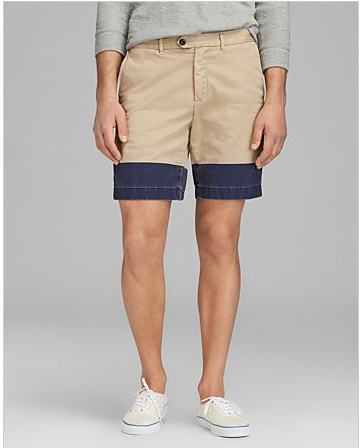 Khaki and Navy Shorts