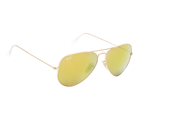 Gold Mirror Aviators