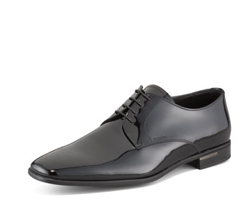 Prada Patent Leather Lace-Ups