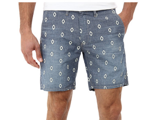 Big Star Slim Industry Chino Short in Stone Tile