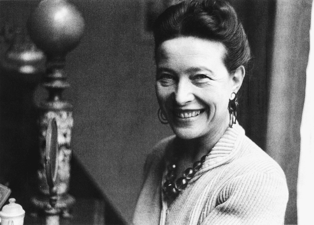 Simone de Beauvoir (1908-1986) Considered one of the female founders of feminism, Baauvoir's book The Second Sexdepicts the traditions of sexism that dominate society and history. Particularly groundbreaking was her notion of gender being learned rather than biologically attributed.