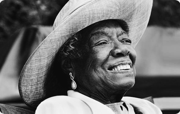 Maya Angelou (1928-2014) Having recently read her first autobiography I Know Why The Caged Bird Sings, I have just begun to understand the immensity that is Maya Angelou. Not only is she a fantastic story-teller and poet, her books have inspired many disadvantaged females to find strength in the struggle.