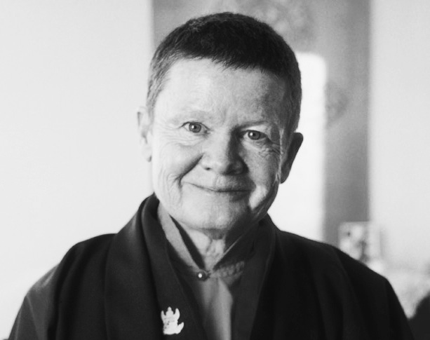Pema Chödrön (1936 - ) Pema is an ordained Buddhist nun who runs a monastery in Nova Scotia Canada, although originally she is American. Her book The Places That Scare You has gotten me through really tough times, and her strength and wisdom is not limited to those in close proximity to her. She has the great talent of waking us up to happiness and truth.
