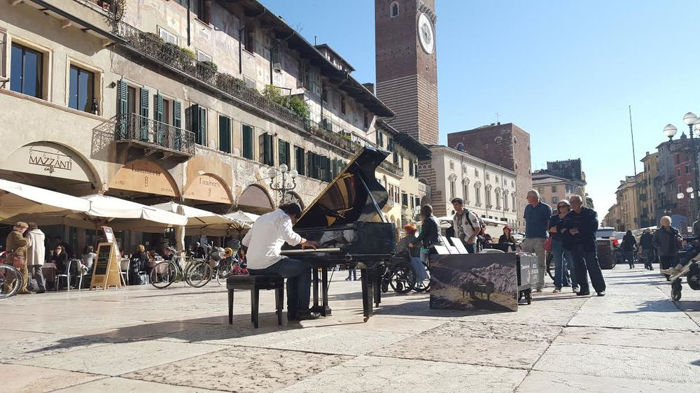 Photo by Kerri, taken in Verona, Italy