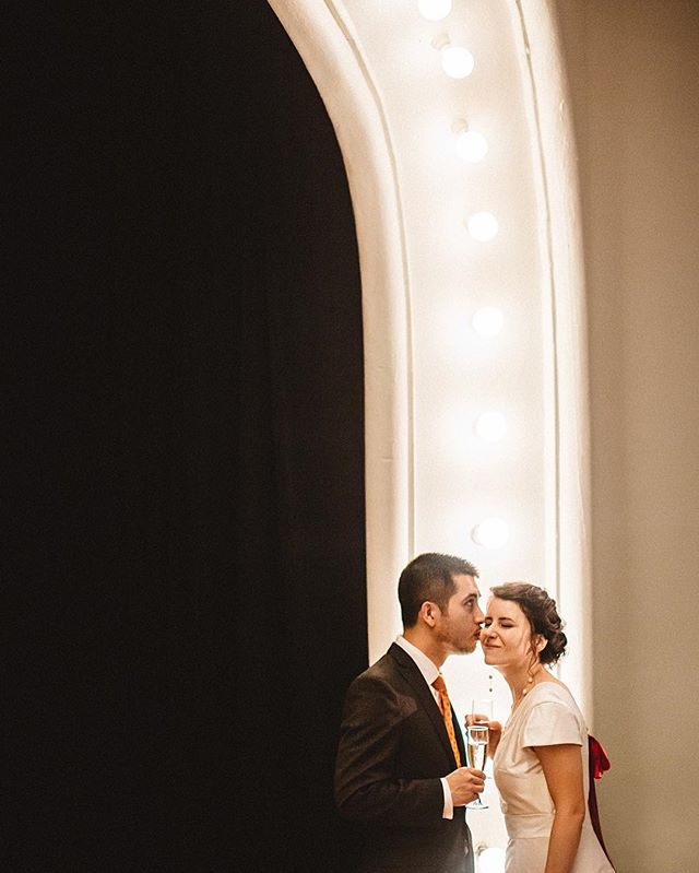 When you get wind and rain, you make the most with theater lights. These two fought against the elements and won the battle with a heart warming cultural wedding ceremony. Cheers to you both and thank you so much for letting us be a part of your day! . . . . . #seattlewedding #seattleweddingphotographer #washingtonwedding #washingtonweddingphotographer #pnwwedding #pnwweddings #pnwweddingphotographer
