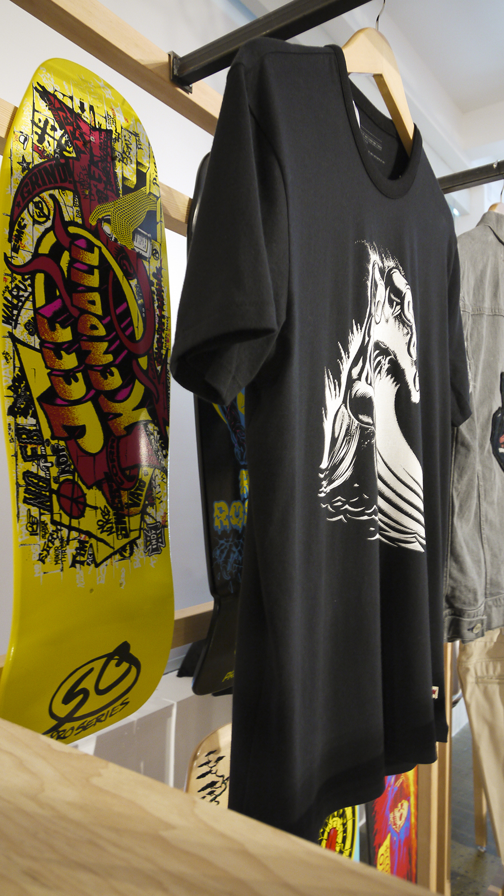 Jim Phillips Skate Deck T-Shirt Designs