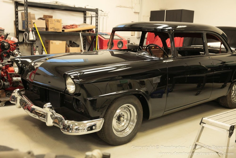 Tom's '55 Ford Customline - Poster Style
