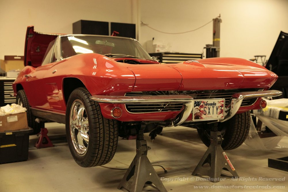 Mike's '63 Corvette - Collage Style Image Left