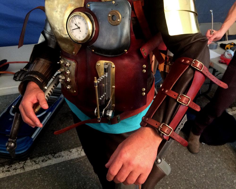 Patrick Spring's armour