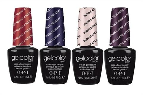 gelcolor is applied and dried at a faster speed than regular gel nails and the color gives you weeks of incomparable shine and wear - Nuancier Gel Color Opi