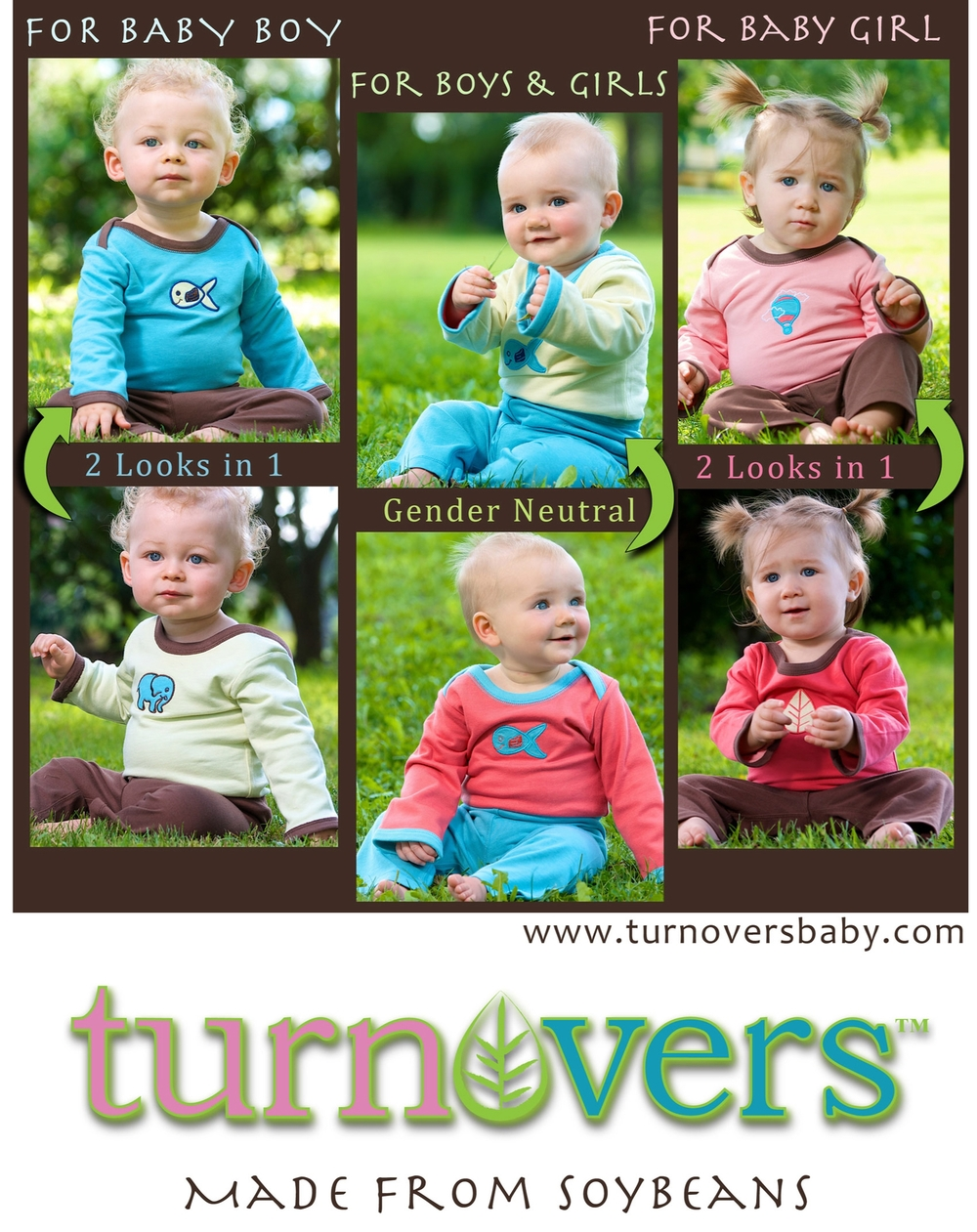 Visit www.TurnoversBabyShop.com