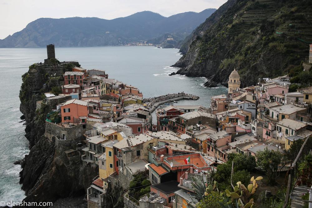 Overlooking Vernazza, Cinque Terre