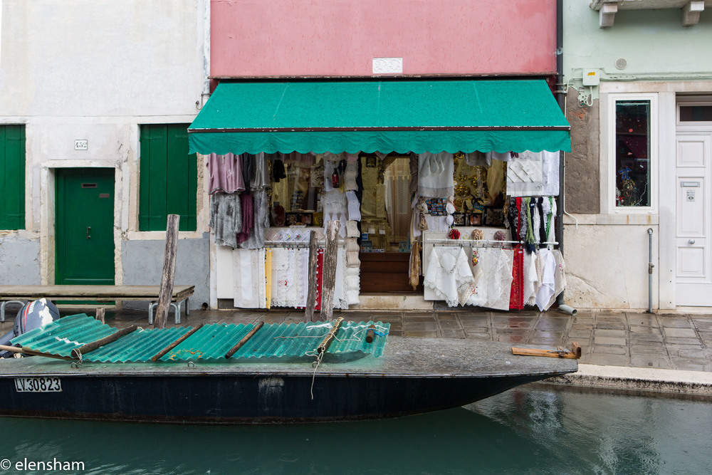 Burano is also known for lace workmanship that dates back to 1500.