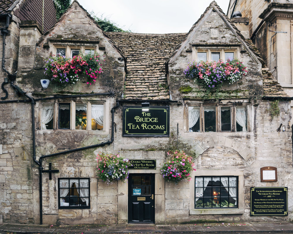 Cotswolds tea room
